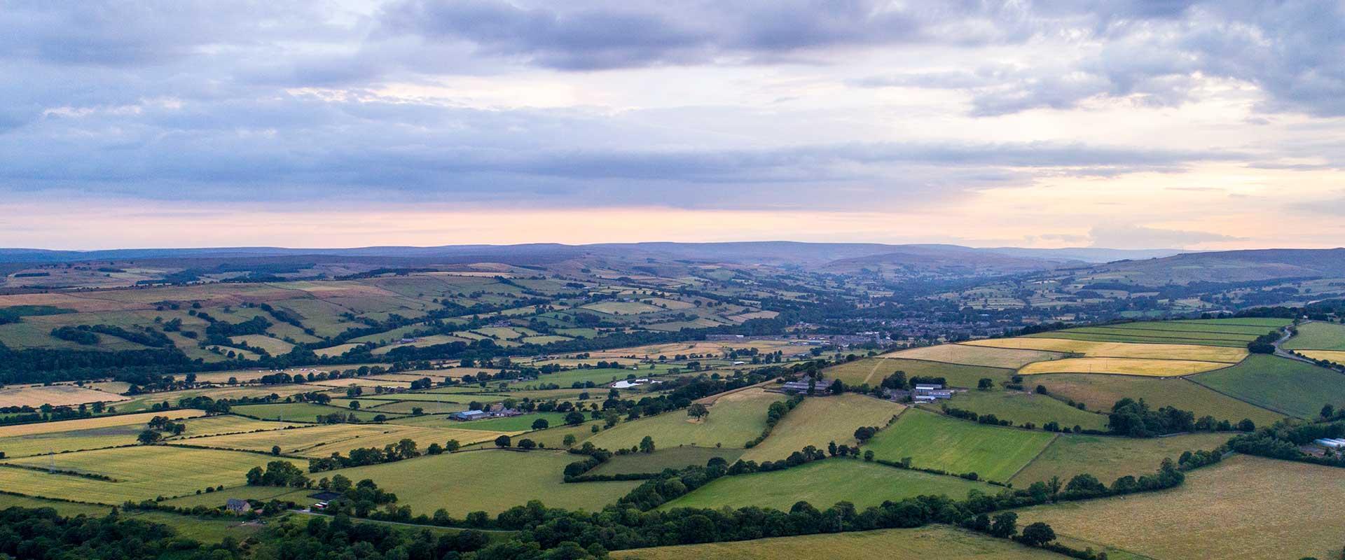 View of Wolsingham & Weardale